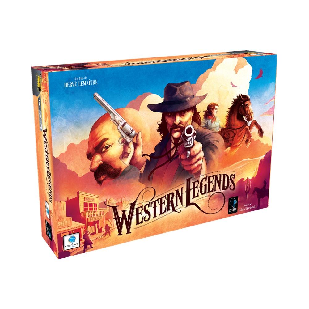 Western Legend - Jogo de Tabuleiro - Conclave (em português)