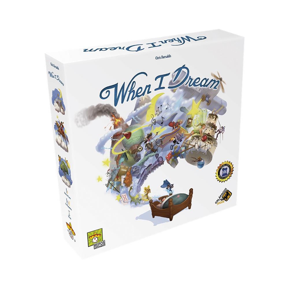 When I Dream - Jogo de Tabuleiro - Galápagos Jogos (em português)
