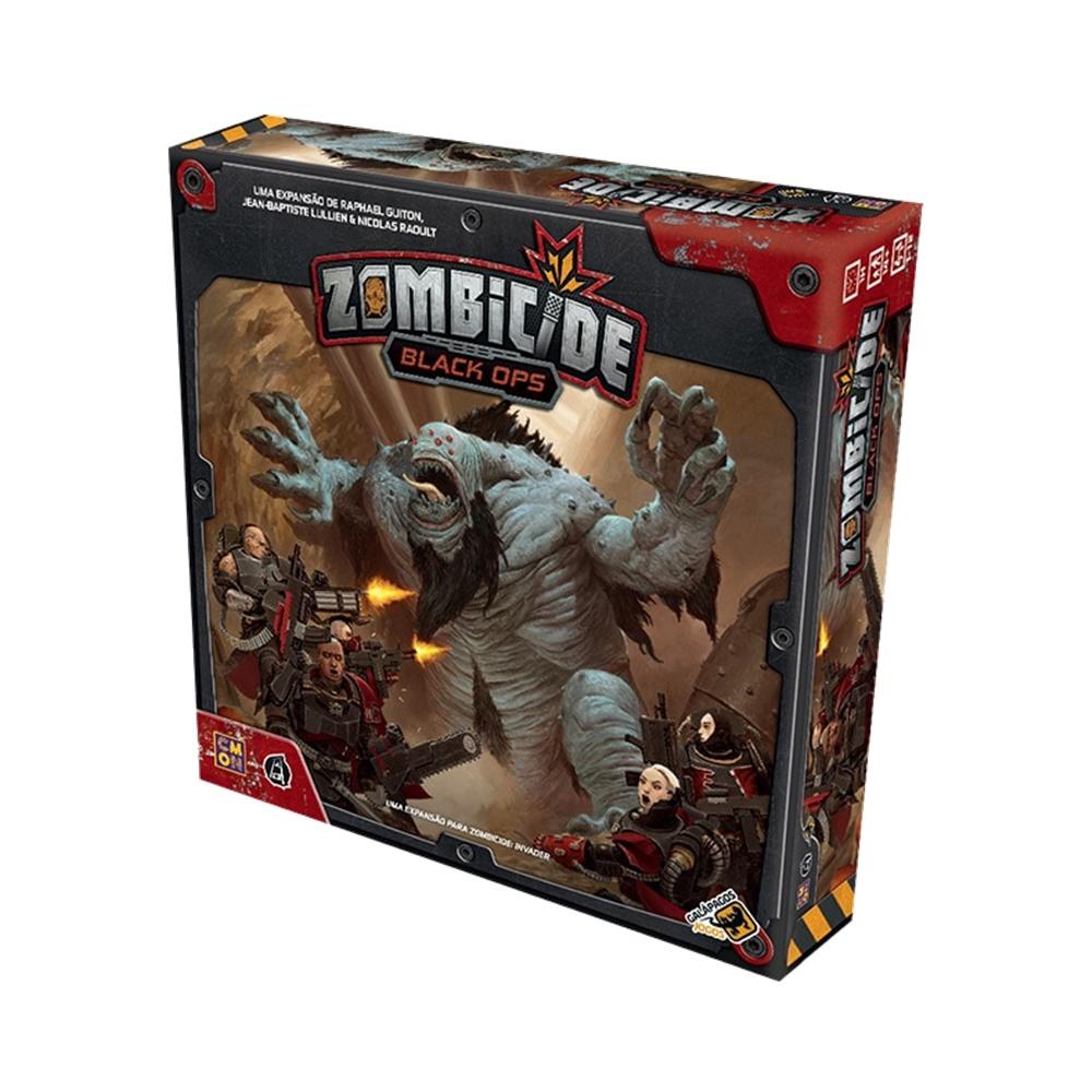 Zombicide Invader Black Ops - Expansao - Galápagos Jogos (em português)