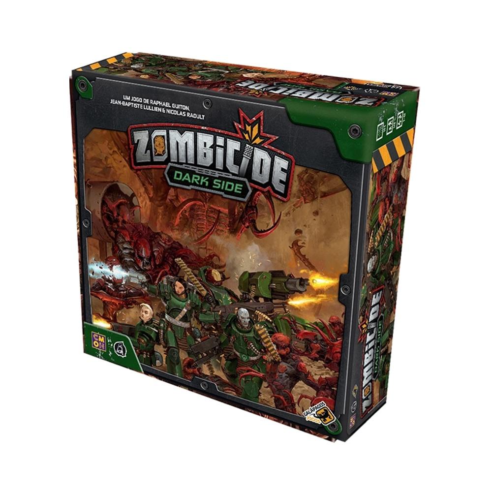Zombicide Invader Dark Side - Jogo de Tabuleiro - Galápagos Jogos (em português)