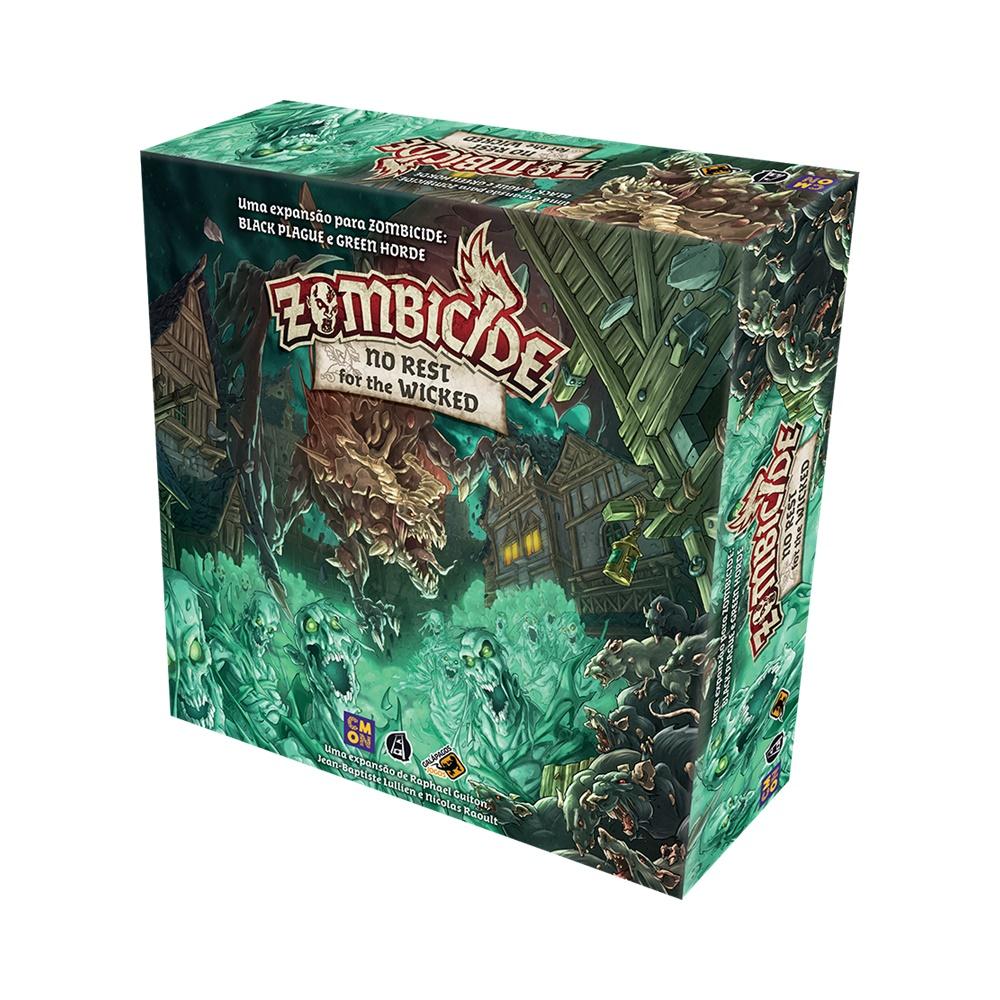 Zombicide No rest for the Wicked - Expansão Jogo de Tabuleiro - Galápagos Jogos (em português)