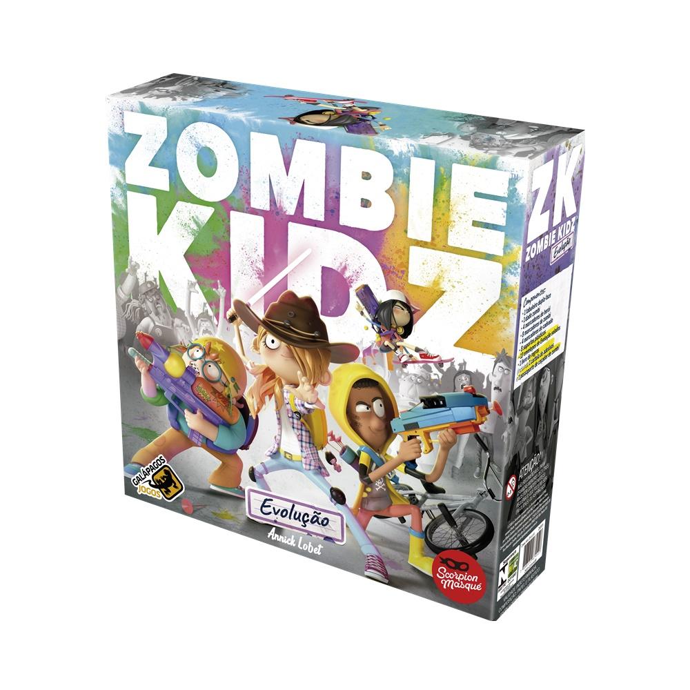 Zombie Kidz: Evolucao - Jogo de Tabuleiro - Galápagos Jogos (em português)