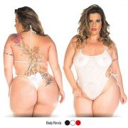 BODY EM RENDA PLUS SIZE