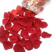 Pétalas de Rosa de Veludo 100 un