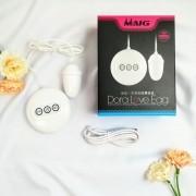 Vibrador Bullet Dora Love Egg Recarregável com Controle