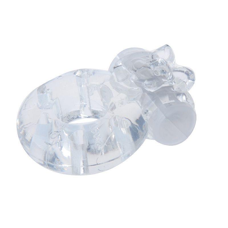 Anel Peniano com Vibrador para Estimular o Clitóris ou Testículos