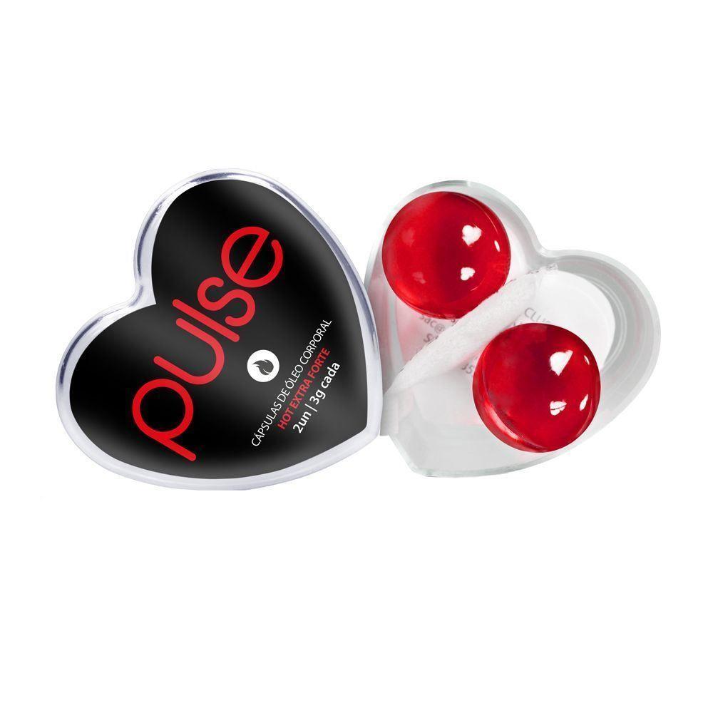 Bolinhas Pulse Excitante Hot Extra Forte