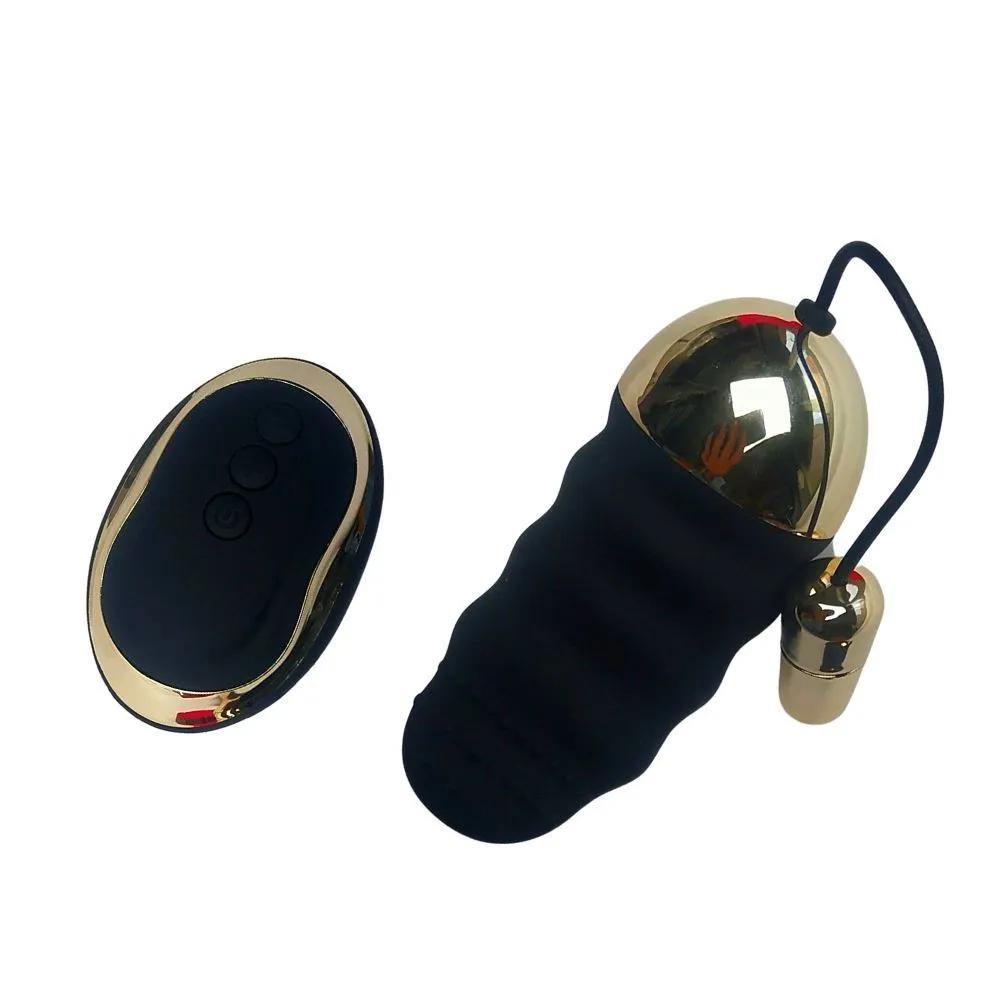 Bullet Estimulador de Ponto G Recarregável com Controle Sem Fio