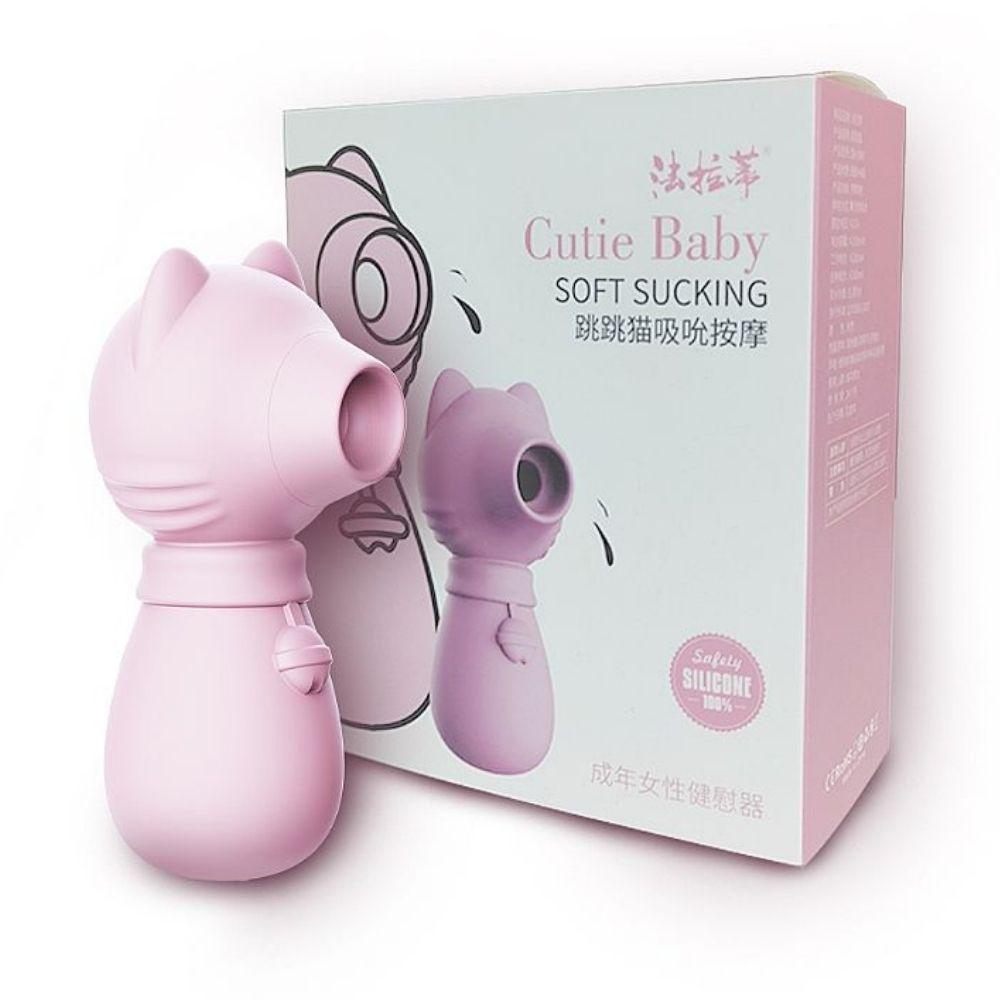 Cutie Baby 4 Estimulador de Clitóris com Ondas de Pressão e Pulsação Recarregável