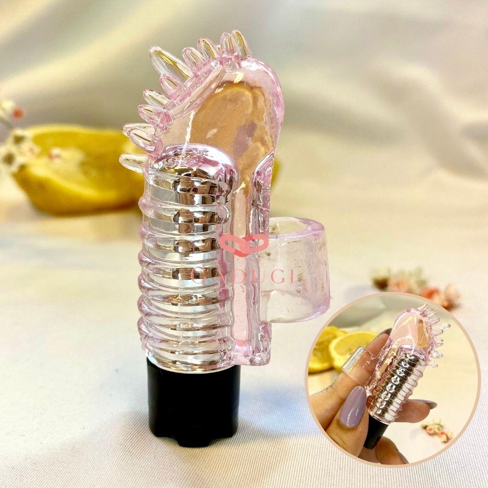 Dedeira Vibratória em Silicone com Texturas Baile