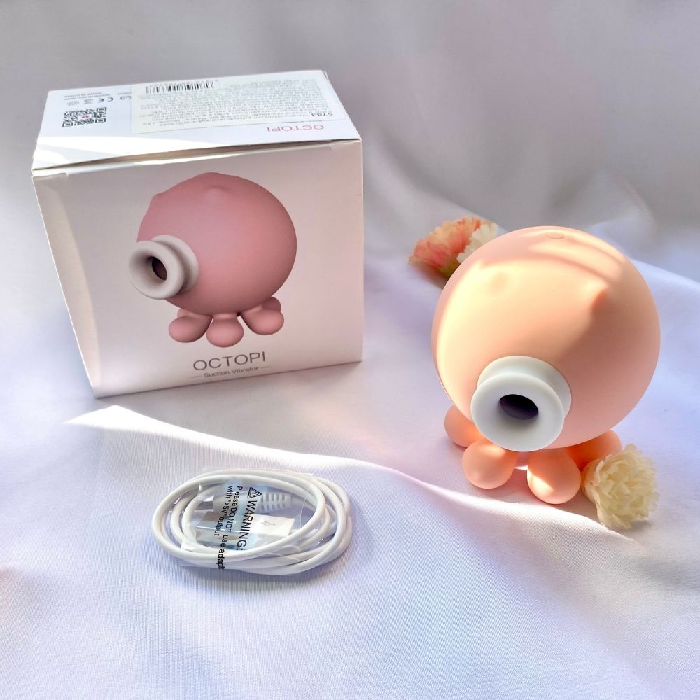 Estimulador de Clitóris com Sucção Recarregável Octopi S-Hande