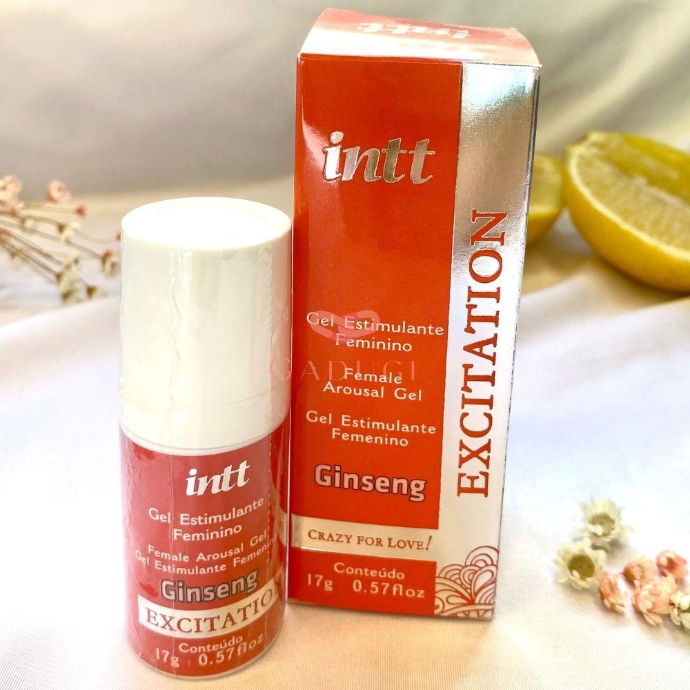 Excitation Gel Excitante Feminino Facilitador de Orgasmos de Ginseng 17 g