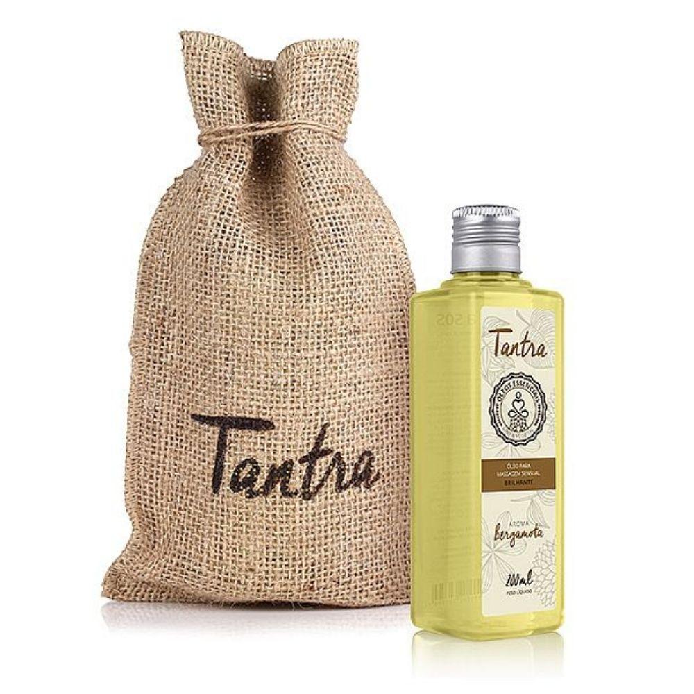 Óleo para Massagem Sensual Tantra com Aroma de Bergamota 200 ml