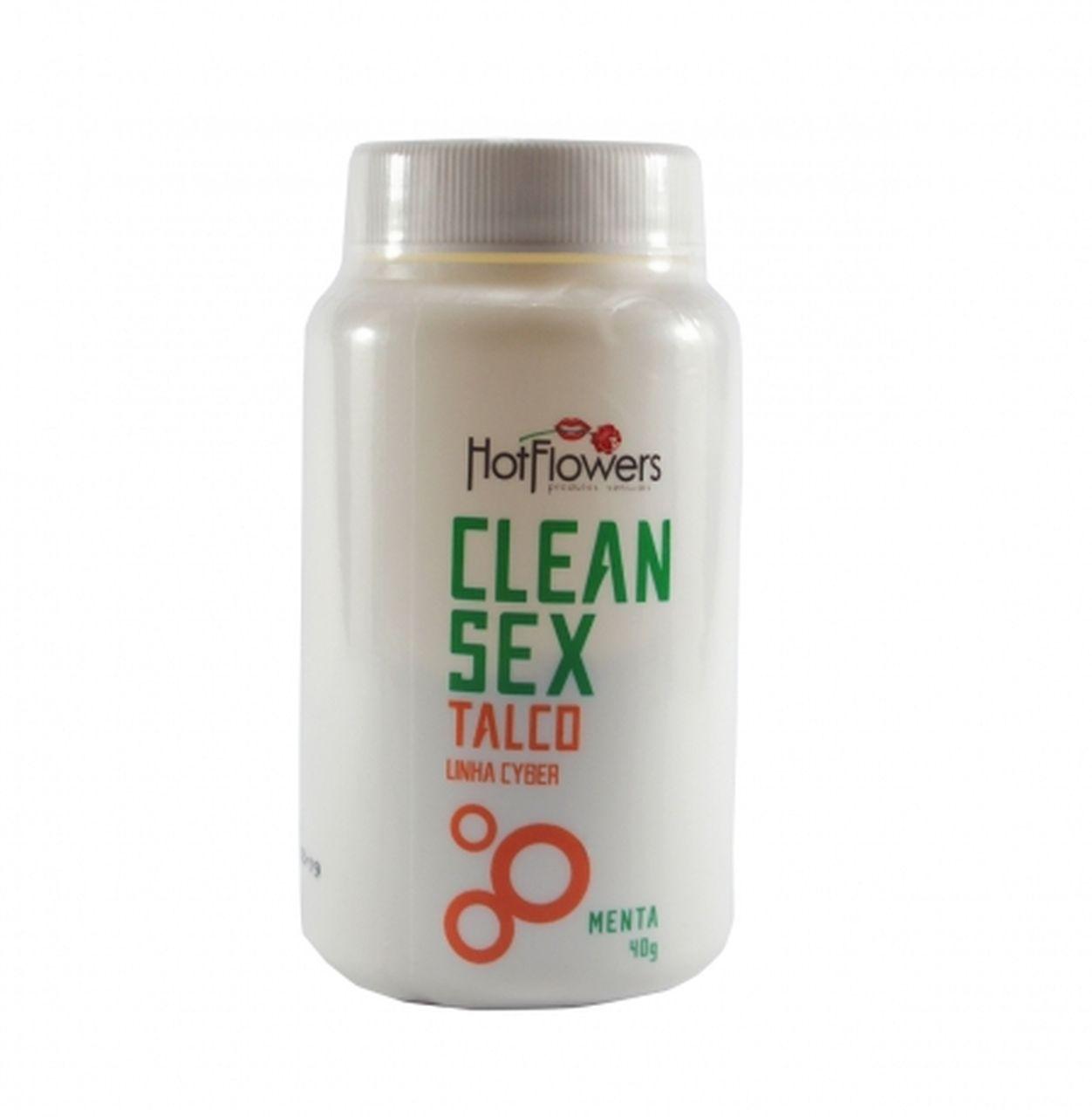 TALCO CLEAN SEX PARA BRINQUEDOS ERÓTICOS