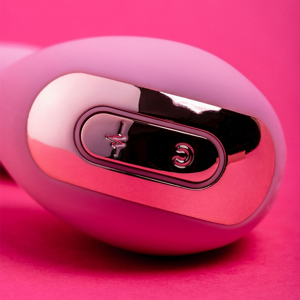Vibrador Ponto G com Estimulador de Clitóris com Sucção  Aya Valen
