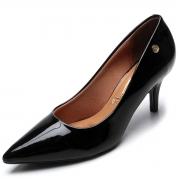 Sapato Feminino Scarpin Salto Bico Fino Social Confortavel Trabalho Uniforme Basico Secretaria Escritorio Vizzano 1185702
