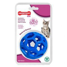 Brinquedo para gato com catnip Odontopet Cat Bola Azul
