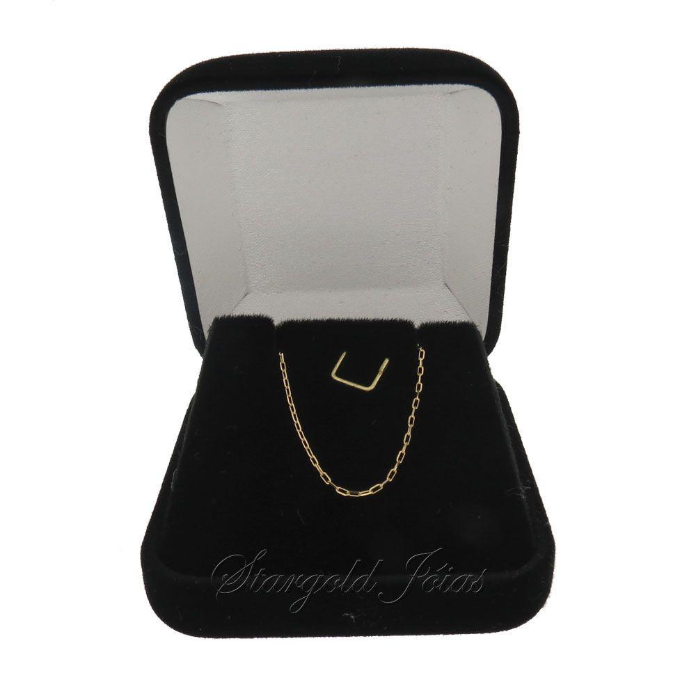 Corrente Cartier 40cm Ouro 18k
