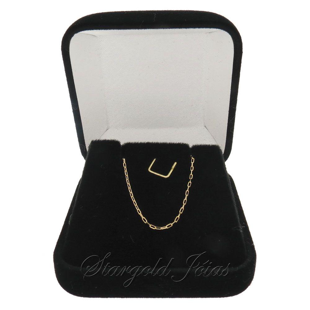 Corrente Cartier 45cm Ouro 18k