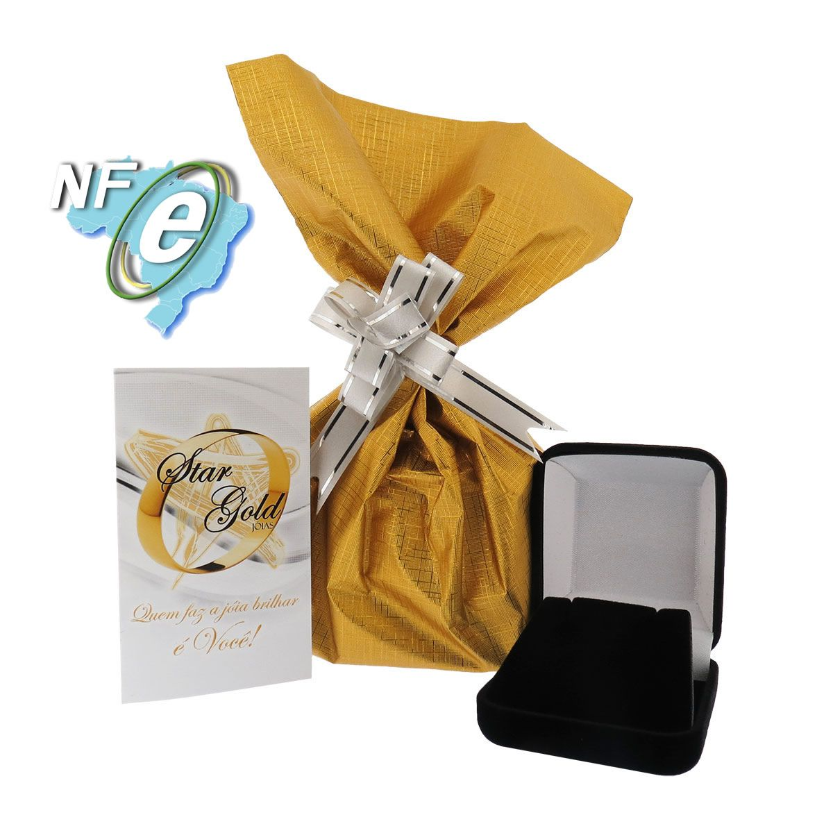 Pingente Letra N Ouro 18k