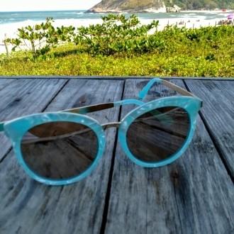 Óculos de Sol Feminino Blue Sea