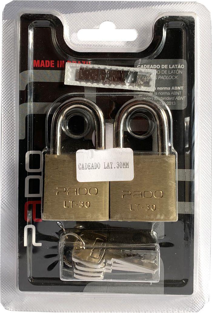 Cadeados Segredos Iguais Pado (2 unidades)