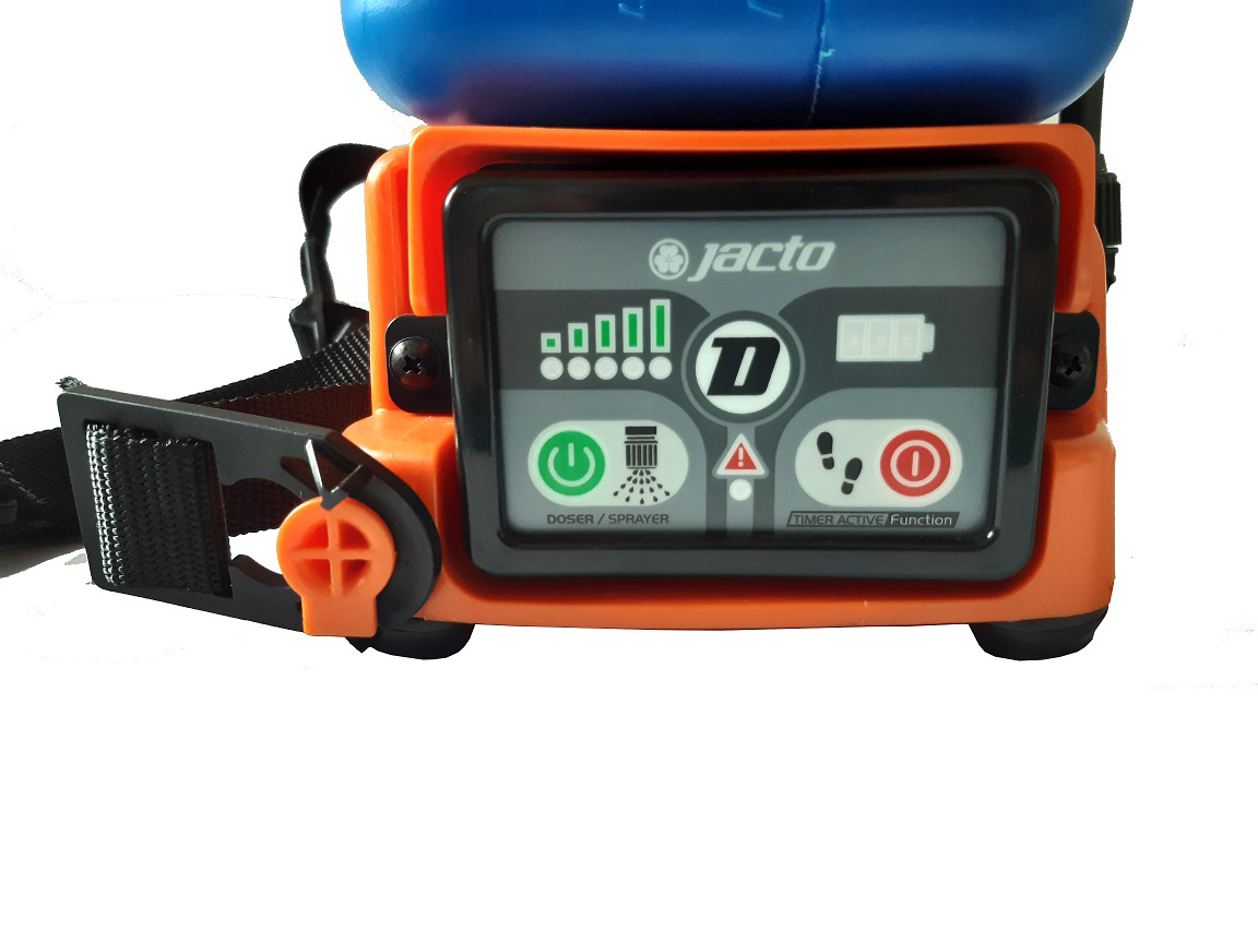 Dosador e Pulverizador Costal a Bateria - Jacto DJB 20
