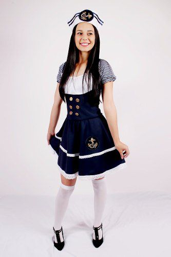 Vestido Marinheira com quepe