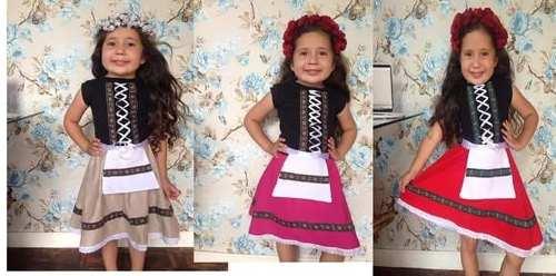 Vestido Frida Infantil Oktoberfest