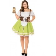 Fantasia Alemã Plus size Oktoberfest Blumenau