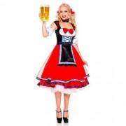 Vestido Frida Feminino Alema Luxo longo com armação