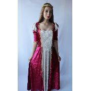 Vestido Princesa Medieval Luxuoso Festas Época celta