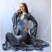 Medieval Traje Feminino Vestidos Luxuosos De Época celta