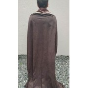 Capa Marrom Cavaleiro Medieval Com Camisa