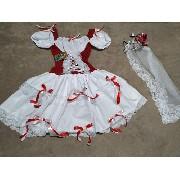 Vestido Noiva Caipira Luxo Princesa