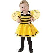 Vestido abelha com asas