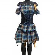 Vestido Caipira Xadrez Cris De Luxo Linda