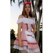 Vestido Frida Feminino Alema Suede