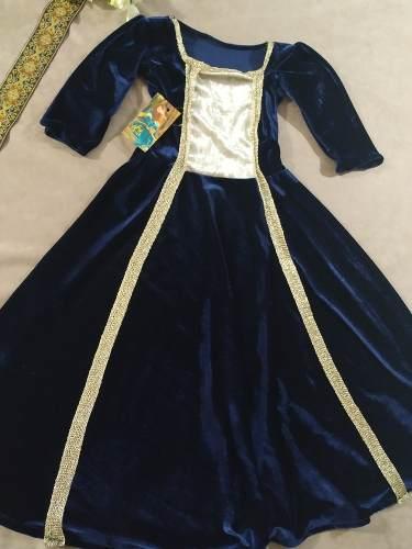 Vestido Medieval Infantil Luxuoso