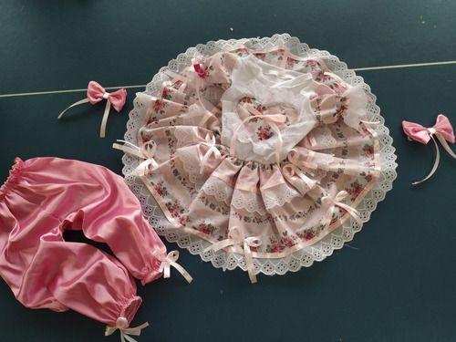 Vestido Infantil Caipirinha Luxo Lindo Exclusivo