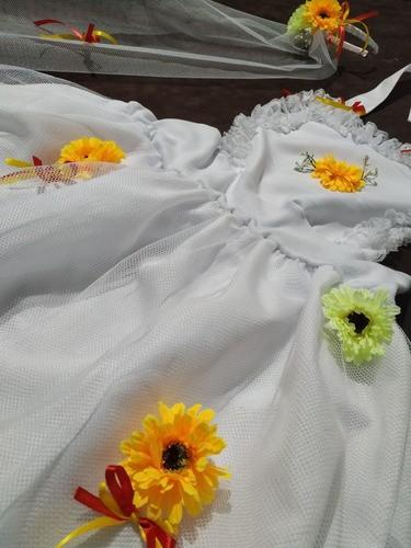Vestido Avental Caipirinha Noivinha