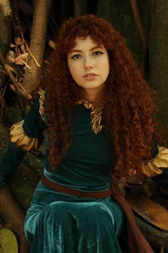 Fantasia Princesa Merida Princesa Valente