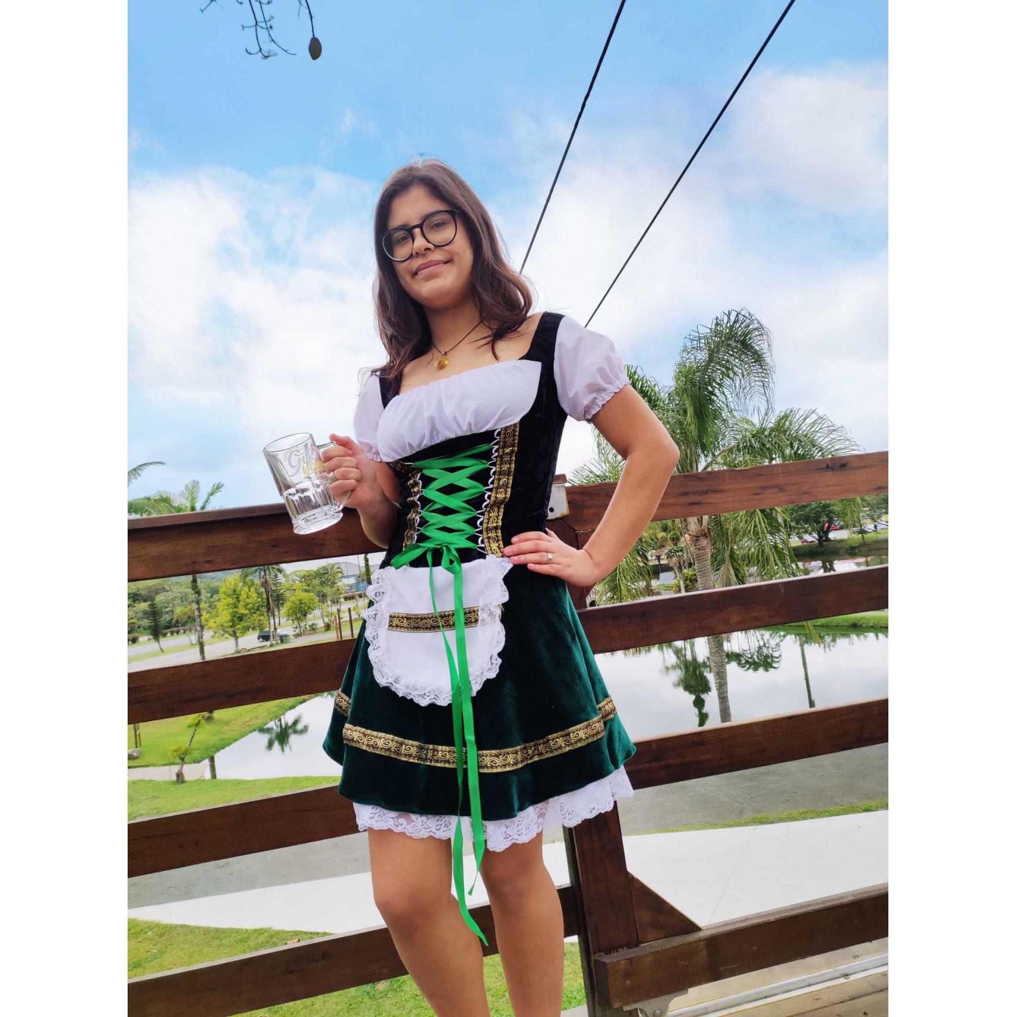 Fantasia Alema Vip Oktoberfest Pronta Entrega