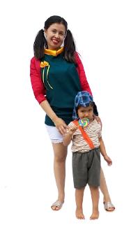 Fantasia Personagem Chaves Infantil divertida