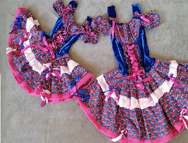 Vestido Mae E Filha Caipirinha
