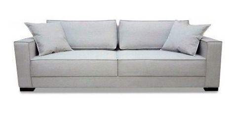 Sofa 3 Lugares 2.20 M Móveis Para Sala De Estar