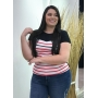 Blusa Feminina Lunender Malha Thirty Plus Size