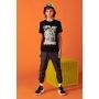 Camiseta Infantil Masculina Johnny Fox