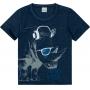 Camiseta Infantil Masculina Malwee Rinoceronte