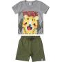 Conjunto Infantil Masculino Malwee Tigre